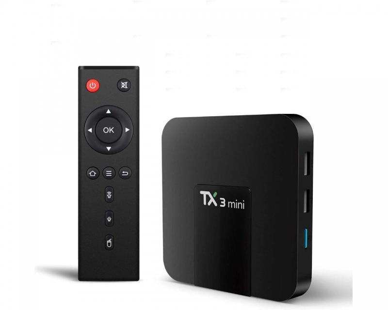 Android Tv Box TX3 Mini-A RAM 2GB ROM 16GB HDMI WiFi Ethernet USB TF SPDIF