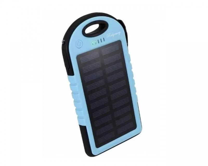 Power Bank Batería Externa Solar 5000 mah