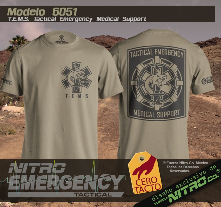 T.E.M.S. Tactical Emergency Medical Support