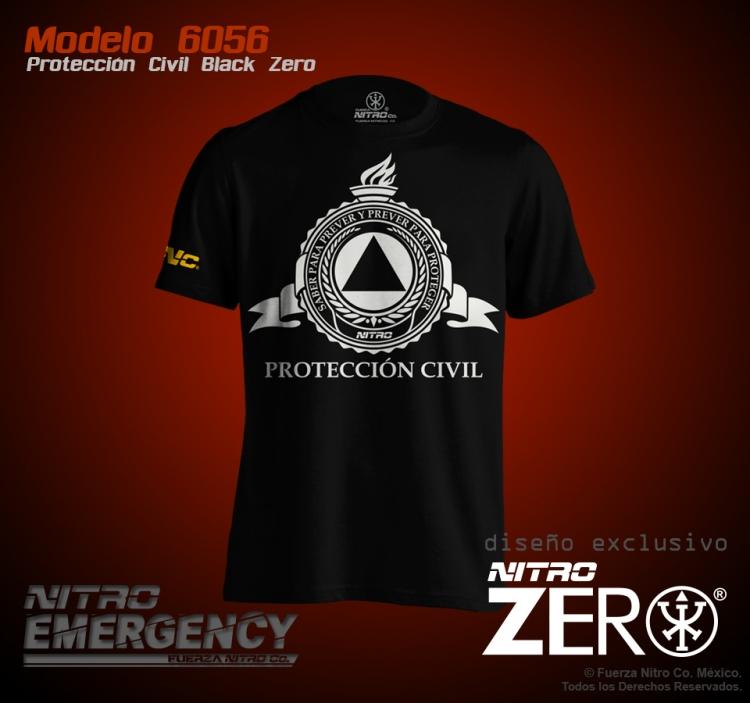 Protección Civil Black Zero