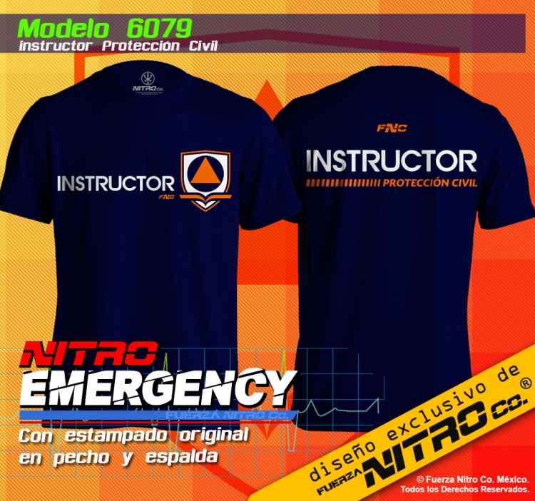 Instructor Protección Civil