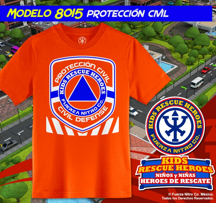 Protección Civil - Kids Rescue Heroes