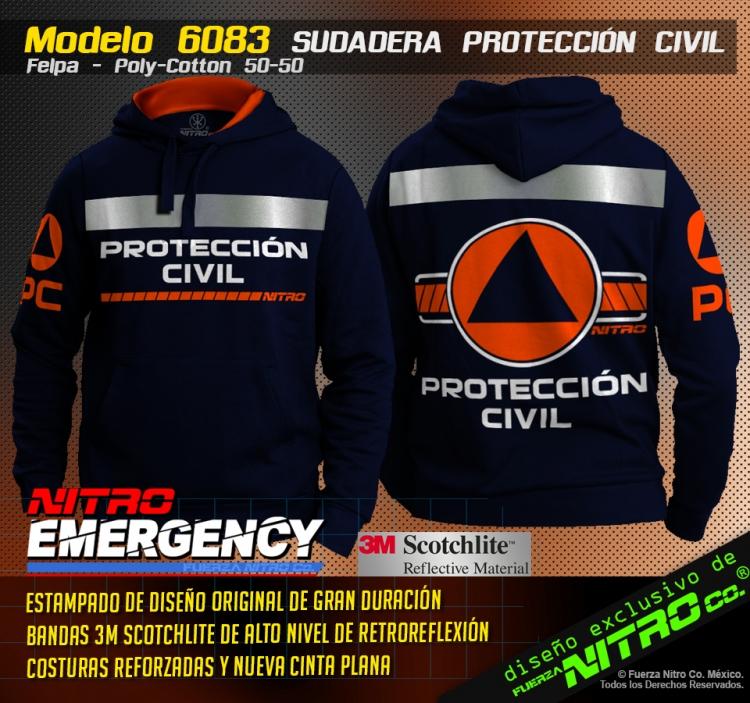 Sudadera Protección Civil