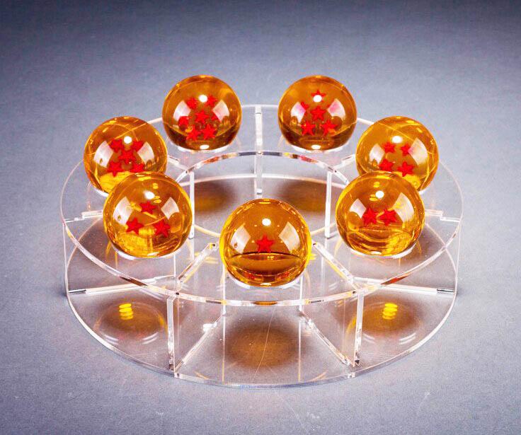 Esferas Del Dragón De 4.4 cm Ø + Base