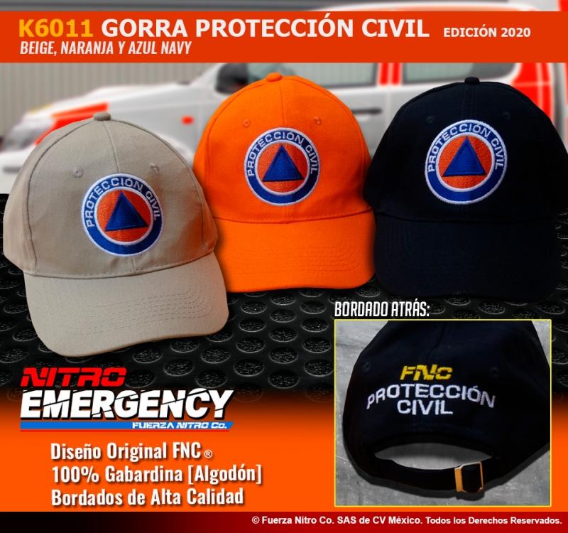 Gorra de Protección Civil