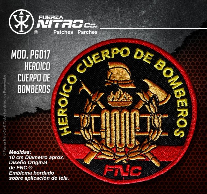 Parche H. Cuerpo de Bomberos