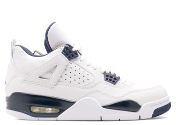 Traphouse Sneakers | Air jordan 4 retro ls white legend blue mdnght navy
