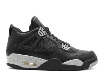 Traphouse Sneakers | Air jordan 4 retro ls oreo black tech grey black