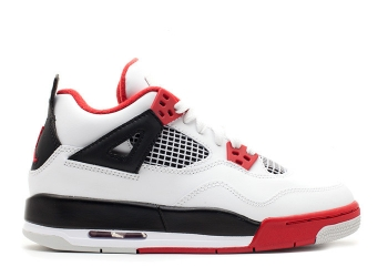 Traphouse Sneakers | Air jordan 4 retro gs 2012 release white varsity red black