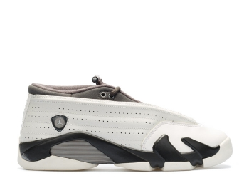 Traphouse Sneakers | Air jordan 14 retro low prm gg gs phantom phantom wht drk strm mtlc pwtr