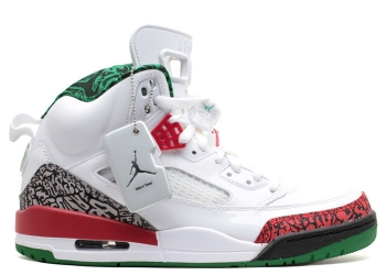 Traphouse Sneakers | Jordan spizike white vrsty rd cmnt gry clssc