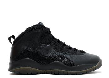 Traphouse Sneakers | Air jordan 10 retro ovo ovo black black metallic gold