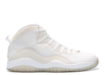 Traphouse Sneakers | Air jordan 10 retro ovo ovo summit white metallic gold wht