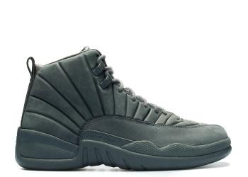 Traphouse Sneakers | Air jordan 12 retro psny dark grey dark grey black