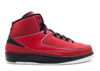 Traphouse Sneakers | Air jordan 2 retro gs varsity red black