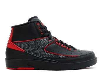 Traphouse Sneakers | Air jordan 2 retro alternate 87 black varsity red