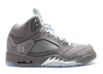 Traphouse Sneakers | Air jordan 5 retro wolf grey light graphite white wolf grey