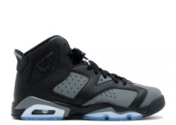 Traphouse Sneakers | Air jordan 6 retro bg gs black white Cool grey