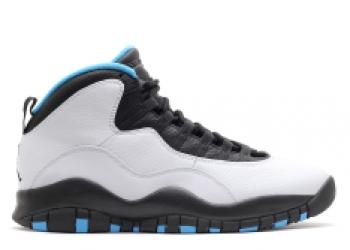 Traphouse Sneakers | Air jordan retro 10 powder blue white dk powder blue black