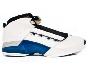 Traphouse Sneakers | Air Jordan 17 White/College Blue