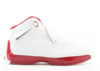 Traphouse Sneakers | Air jordan 18 white varsity red