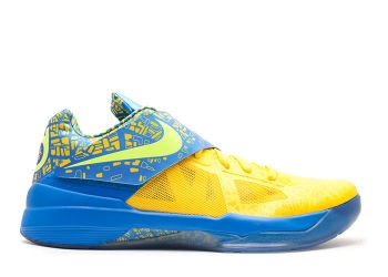 Traphouse Sneakers | Nike zoom kd 4 scoring title tour yellow lemon twist pht bl