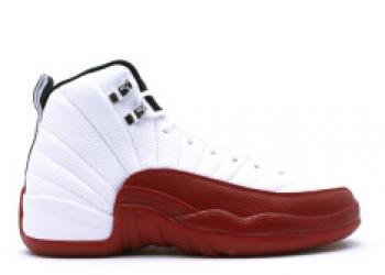 Traphouse Sneakers | Air jordan 12 retro gs white black varsity red