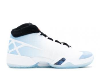 Traphouse Sneakers | Air jordan 30 unc white black university blue