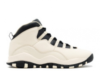 Traphouse Sneakers   Air jordan 10 retro prem gg gs heiress pearl white black black