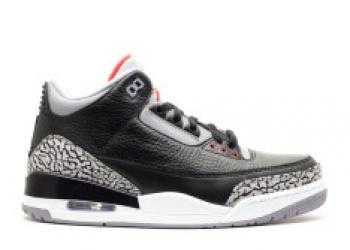 Traphouse Sneakers   Air jordan 3 retro 2011 release black varsity red cement grey