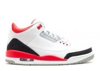 Traphouse Sneakers   Air jordan 3 retro 2013 release white fire red silver black