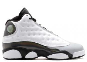 Traphouse Sneakers | Air jordan 13 retro bg gs barons wht teal blck gry
