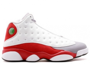 Traphouse Sneakers | Air jordan 13 retro white black true red cmnt grey