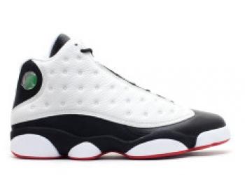 Traphouse Sneakers | Air jordan retro 13 he got game white black true red