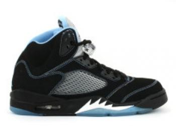 Traphouse Sneakers | air jordan 5 retro ls black university blue white