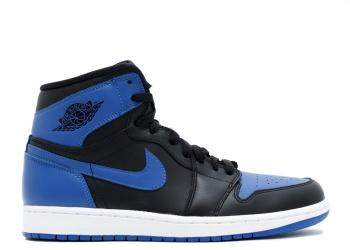 Traphouse Sneakers | Air jordan 1 Royal Blue/Black