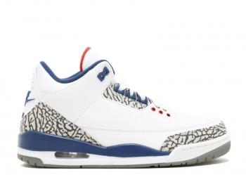 Traphouse Sneakers | Air Jordan retro 3 true blue
