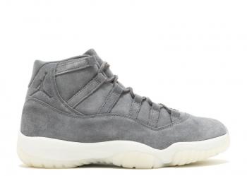 Traphouse Sneakers   Air Jordan 11 Grey Suede