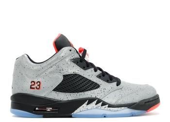Traphouse Sneakers | air-jordan-5-retro-low-neymar-reflect-silver-infrrd-23-blck