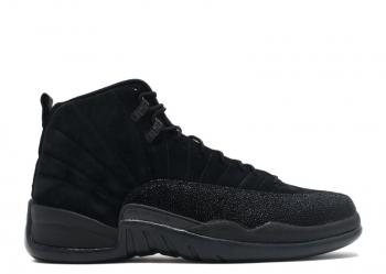 Traphouse Sneakers | Air jordan 12 ovo Black