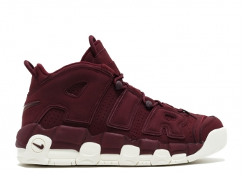 Traphouse Sneakers | Air More Uptempo Maroons