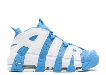Traphouse Sneakers | Air More Uptempo UNC