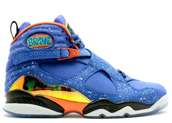 Traphouse Sneakers | Air jordan 8 retro db doernbecher hyper blue elec orng black