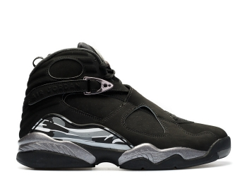 Traphouse Sneakers | Air jordan 8 retro chrome black white lt graphite
