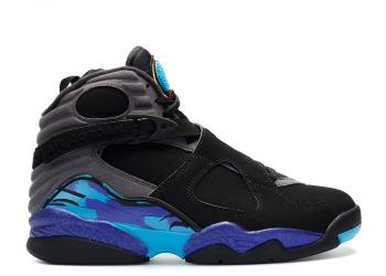 Traphouse Sneakers | Air jordan 8 retro aqua 2015 release blk tr rd flnt gry brght cncrd