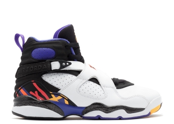Traphouse Sneakers | Air jordan 8 retro 3peat white infrrd 23 blk brght cncr