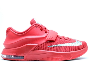Traphouse Sneakers | Nike kd 7 global game action red metallic silver