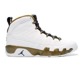 Traphouse Sneakers | Air jordan 9 retro statue white black miltia green