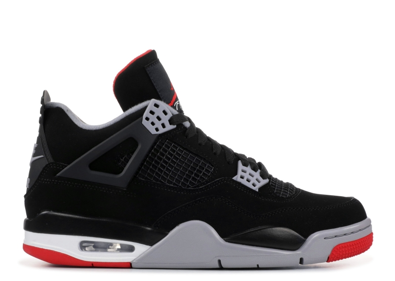 Traphouse Sneakers | Air Jordan 4  BRED OG