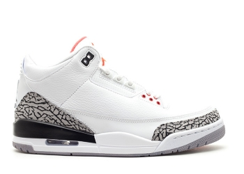 Traphouse Sneakers | Air jordan 3 retro 2011 release white fire red cement grey blk
